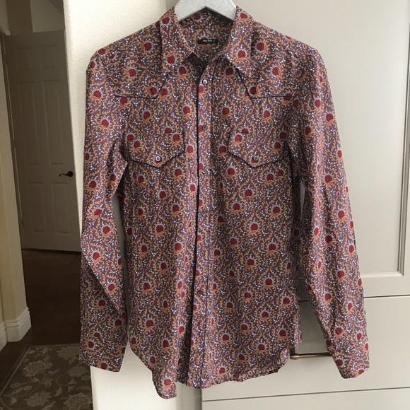 a7e06840b29c Miu Miu button down long sleeve shirt 39 15.5. M 5a4c6067fcdc314a4e0038fd